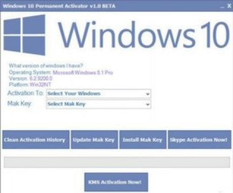 Windows 10 Activator Activation Code & Key Full Free Download
