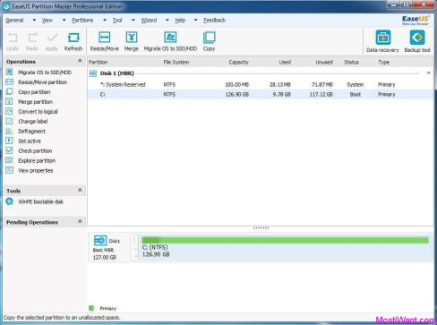 EASEUS Partition Master 13 License Key & Crack Full Free Download