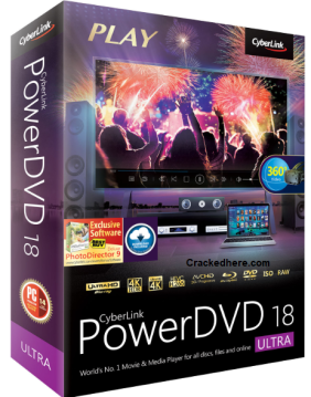 CyberLink PowerDVD 18 Crack