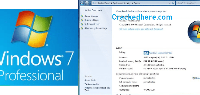 Windows 7 Crack Full Download