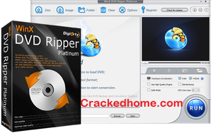 WinX DVD Ripper Platinum Crack Free