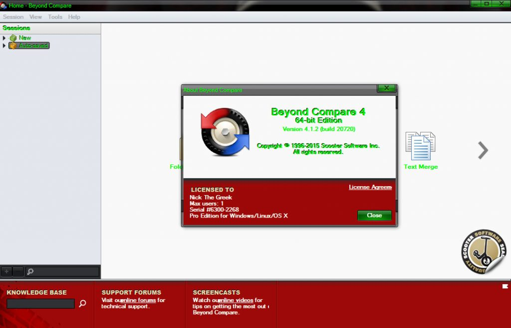 Beyond Compare 4.3.6 Build 25063 Crack + License Key 2021