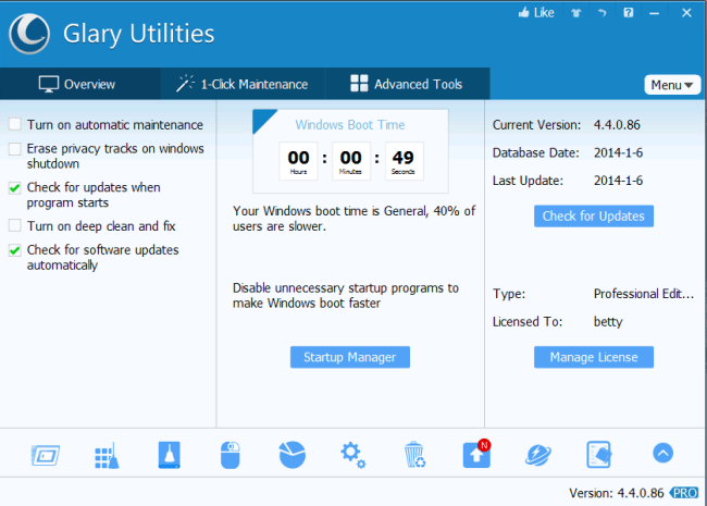 Glary Utilities Pro 5.126.0.151 Serial With Torrent Keys Free Download
