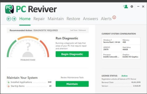 PC Reviver License Key