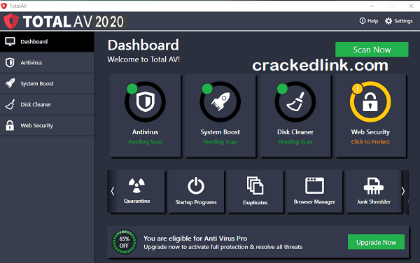Total AV Antivirus 2021 Crack With Serial Key [Updated] Free Download