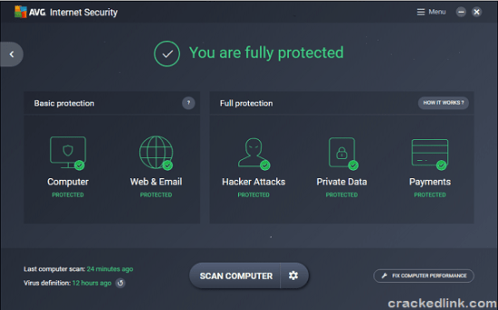 AVG Internet Security 2021 Crack With License Key [Latest] Free Download