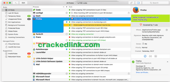 Little Snitch 5.1 Crack With License Key [Latest] Free Download