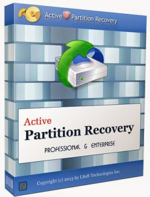 Active Partition Recovery Activation Key