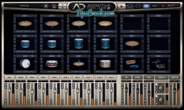 Addictive Drums 2 Crack