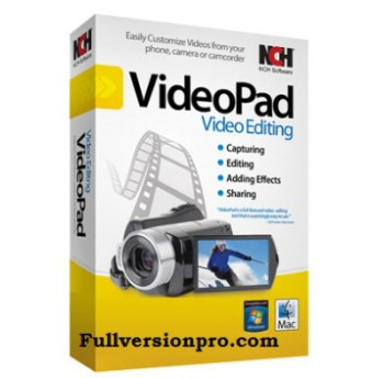 NCH VideoPad Video Editor Professional 6.10 Crack Full ...