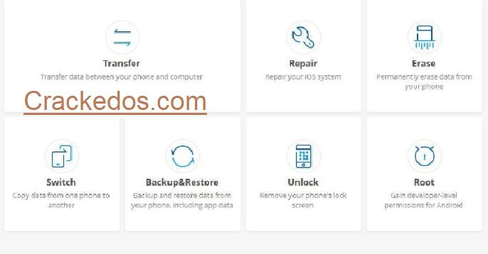 Dr. Fone 10.5.0 Crack Download Registration Code And Serial Key