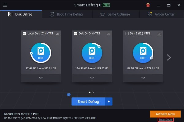 IObit Smart Defrag Pro 6.7.5 Build 30 Crack + Keygen [Download] 2021
