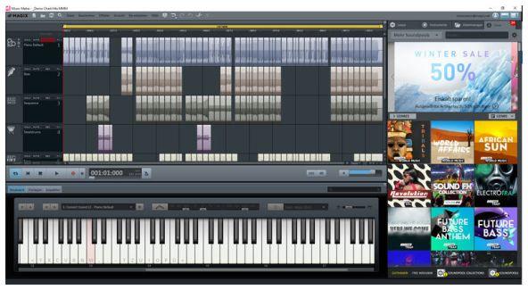 MAGIX Music Maker 2021 29.0.6.35 Crack With Premium Key Download