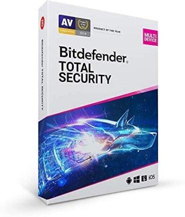 Bitdefender Total Security 2021 25.0.10.52 Crack + Activation Key Update