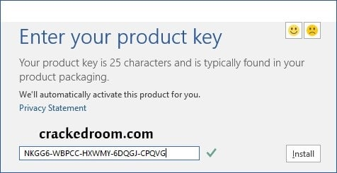 how to activate Microsoft Office 2020 with Product Key