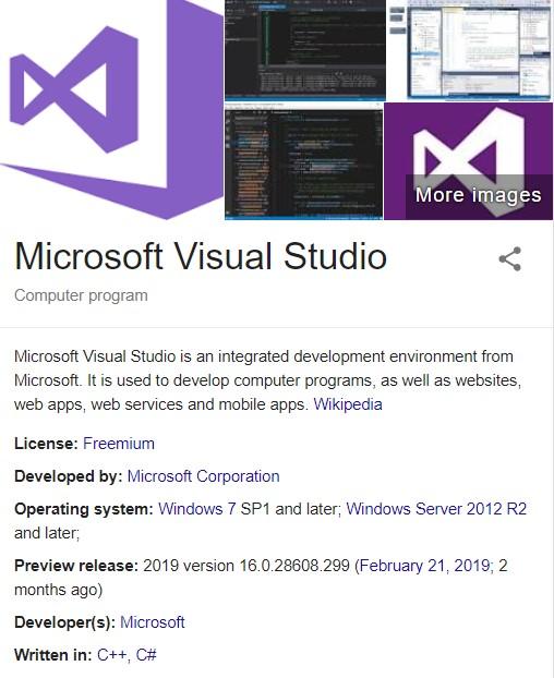 Microsoft Visual Studio 2019 Crack + Activation Key... | Fullprokey
