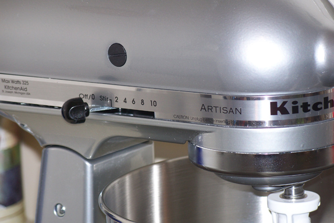 KitchenAide Artisan stand mixer