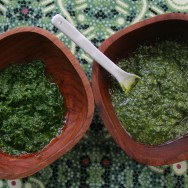 pesto and pistou