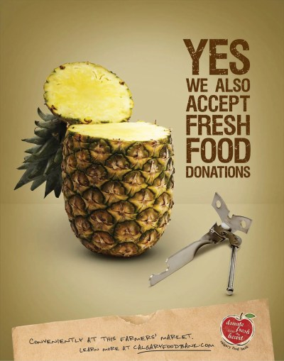 Pineapple and can opener