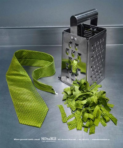 Grated tie
