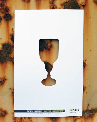 Wine glass for Reworks