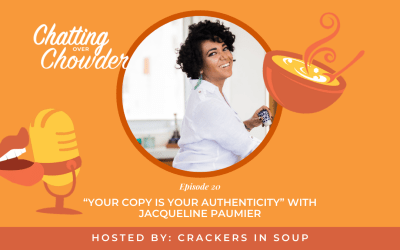 """""""Your Copy Is Your Authenticity"""" with Jacqueline Paumier"""