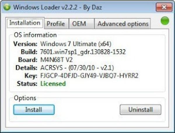 Activer windows 10/8/7 avec activateur windows loader gratuit