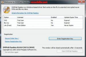 DVDFab Passkey Crack 9.4.1.7 + License key 2021 Free Download