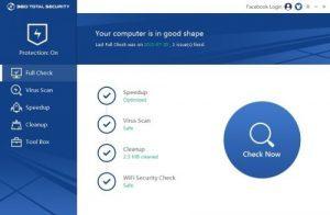 360 Total Security Crack 10.8.0.1357 Full License Key Premium 2021