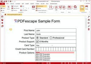 PDFescape Crack v4.2 + License Key 2021 Full Version [Win/Mac]