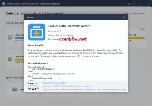EaseUS Data Recovery Wizard 14.2.0 Crack + License Code Generator