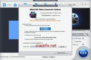 WinX HD Video Converter Deluxe 5.16.3 Crack Full (Setup) License key