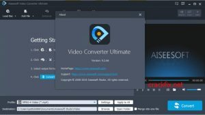 Aiseesoft Video Converter Ultimate 10.3.8 With Crack {2021} Download