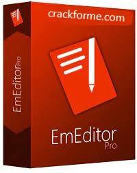 EmEditor Professional 20.9.2 Crack + Keygen (2021) Full Free Download
