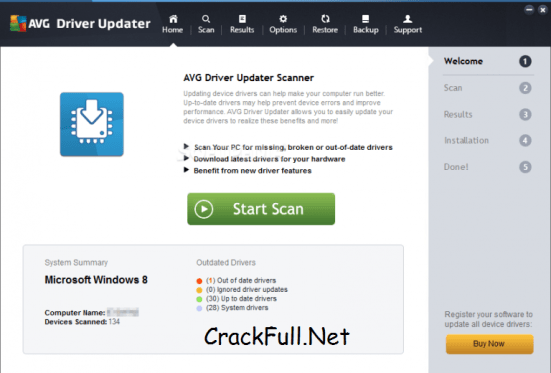 AVG Driver Updater Serial Key