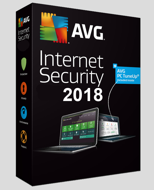 AVG Internet Security 2018 Crack + License Number Download