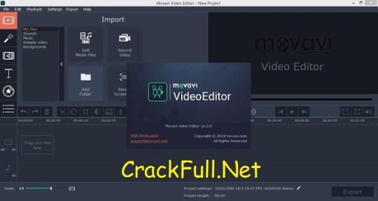 Movavi Video Editor Crack Download