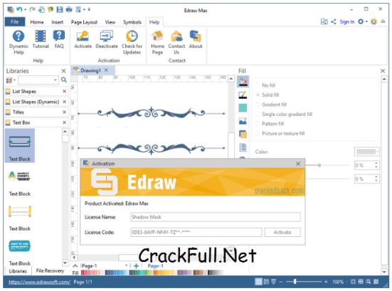 Edraw Max 9.1 License Code