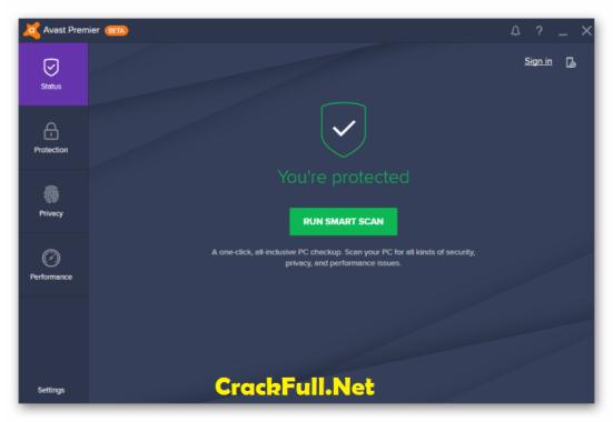 Avast Premier 2018 Crack License Key + Activation Code Till 2050