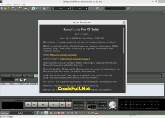 MAGIX Samplitude Pro x3 Suite Crack