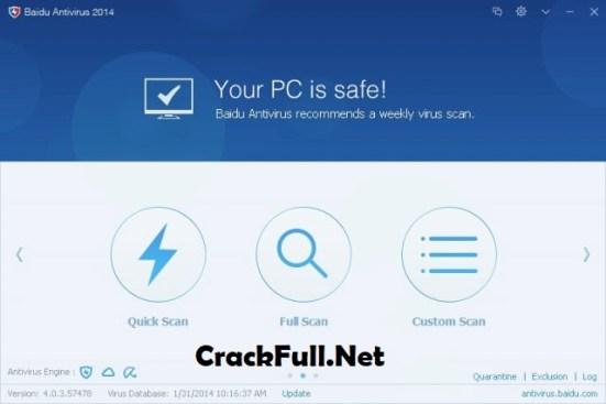 Baidu Antivirus 2018 Crack