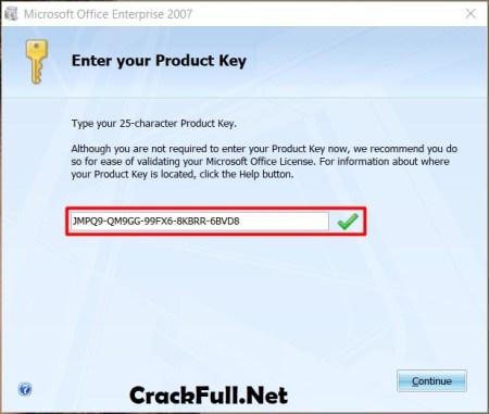 MS Office 2007 Product Key List