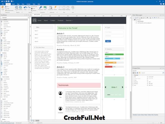 WYSIWYG Web Builder 14 Crack