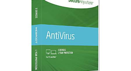 Webroot SecureAnywhere AntiVirus Serial Key