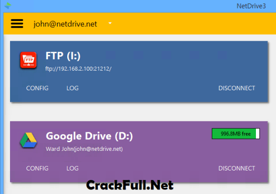 NetDrive 3 Full Crack