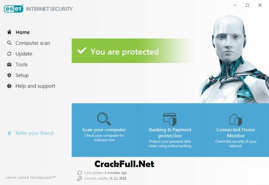 ESET Internet Security 2019 Crack