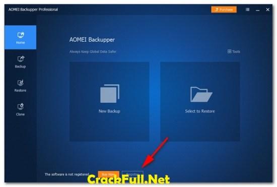 AOMEI Backupper Professional License Code