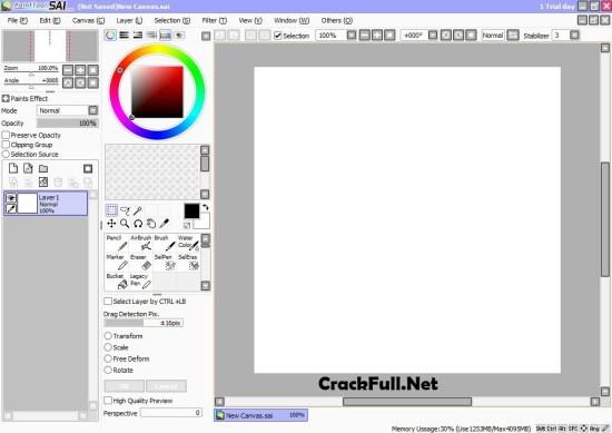 Paint Tool SAI 2 Crack Download