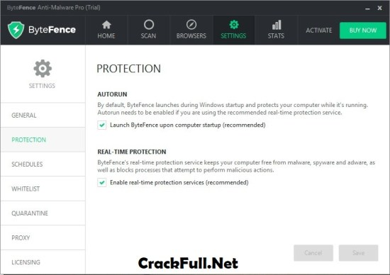 ByteFence Anti-Malware Crack + License Key Download