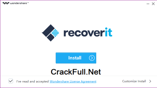 Wondershare Recoverit Registration Key Code